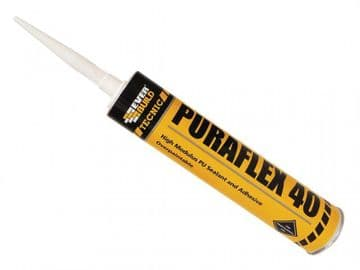 Industrial Puraflex 40 Sealant Black 300ml